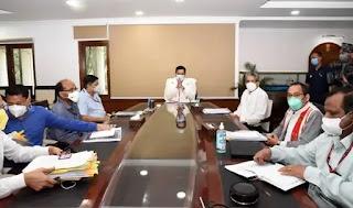 केन्द्रीय पत्तन, पोत परिवहन और जलमार्ग मंत्री सर्बानन्द सोनोवाल ने मंत्रालय की वर्तमान में जारी परियोजनाओं की समीक्षा की Union Minister for Ports, Shipping and Waterways Sarbananda Sonowal reviews the ongoing projects of the Ministry Hindi news