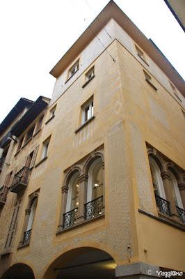 Edifici del centro di Lugano