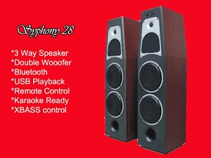 Roadmaster Symphony 28 Bukan Speaker Bluetooth Biasa