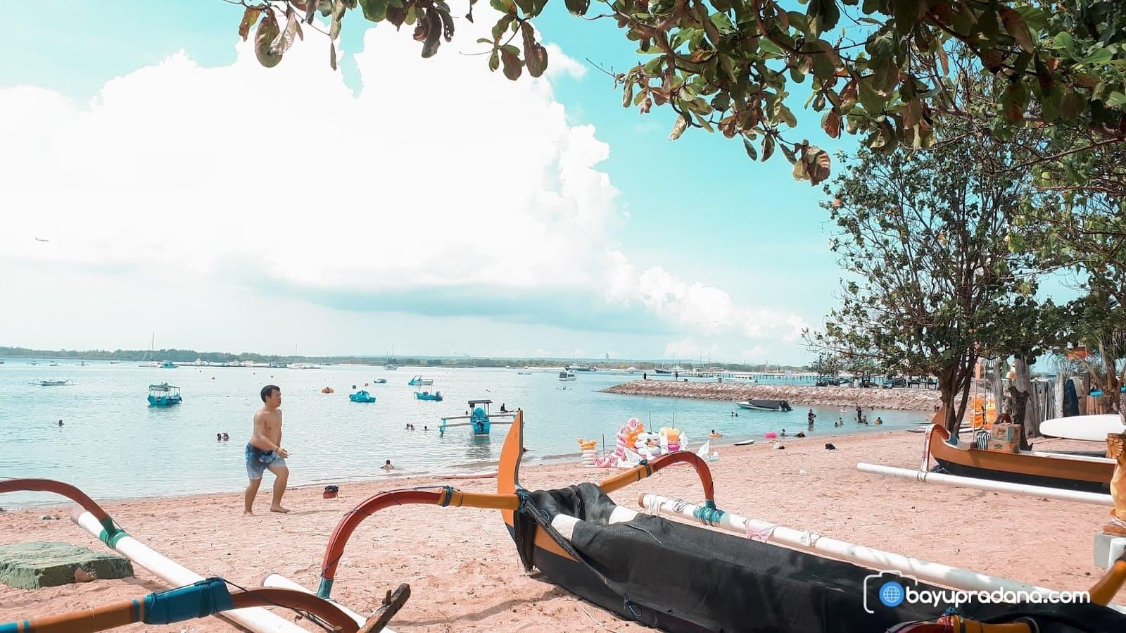 Foto Pantai Mertasari Sanur Bali, Indah & Memesona