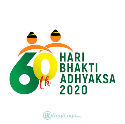 Logo Hari Bhakti Adhyaksa ke-60 Vector cdr PNG HD