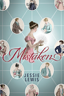 Book Cover - Mistaken by Jessie Lewis