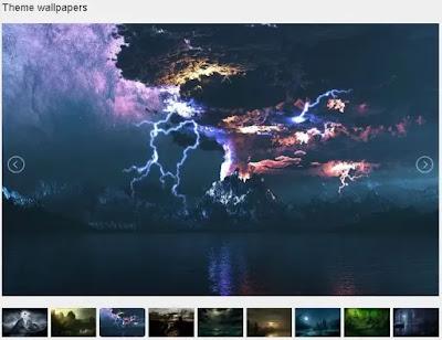 Dark Fantasy Landscape Windows Theme
