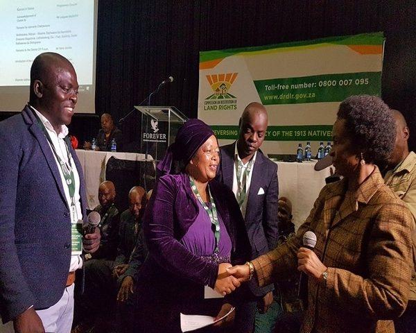 Bela Bela Resident receive title deeds