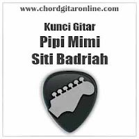 Chord Kunci Gitar Pipi Mimi Siti Badriah
