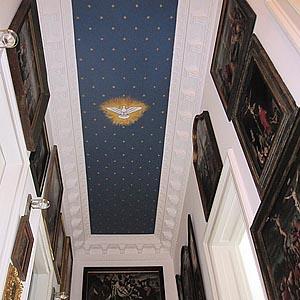 Wandmalerei, Gemälde und sakrale Malerei