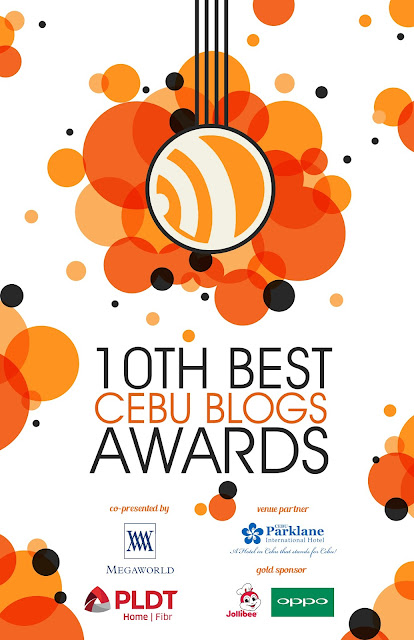 The 10th Best Cebu Blogs Awards Online Poster