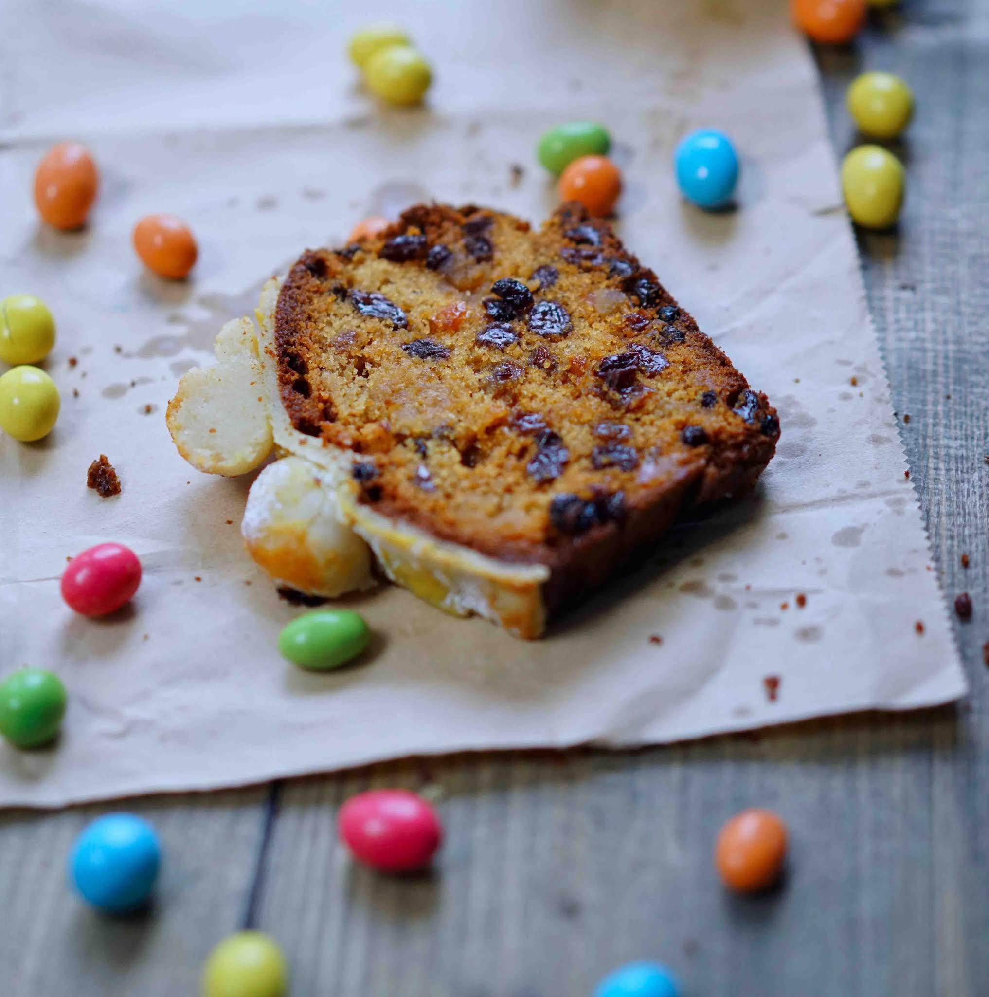 cuisine de pâques , cake anglais , cake aux raisins