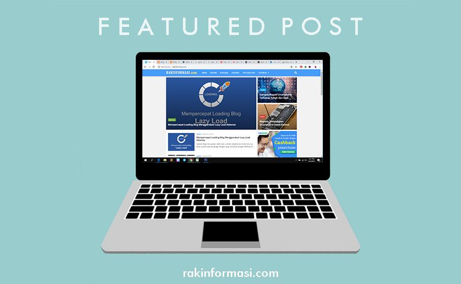 Cara Membuat Featured Post Responsive