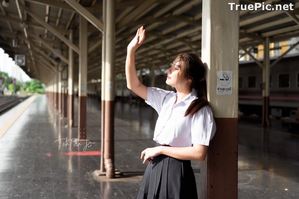 Image Thailand Model - Kornrawee Chokejindachai - Cute Student Girl - TruePic.net - Picture-6