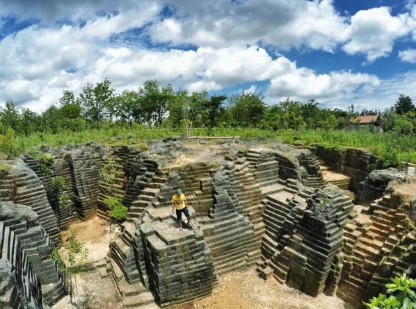 Lokasi Watu Giring Cocok untuk foto Art