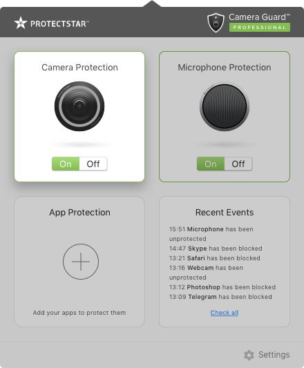 تطبيق Camera Guard™ PRO - Blocker