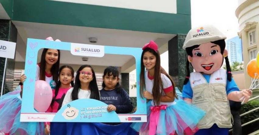 Escolares de la I.E.P. Santa Rosa de Breña aprenden sobre importancia de su derecho a la vacunación