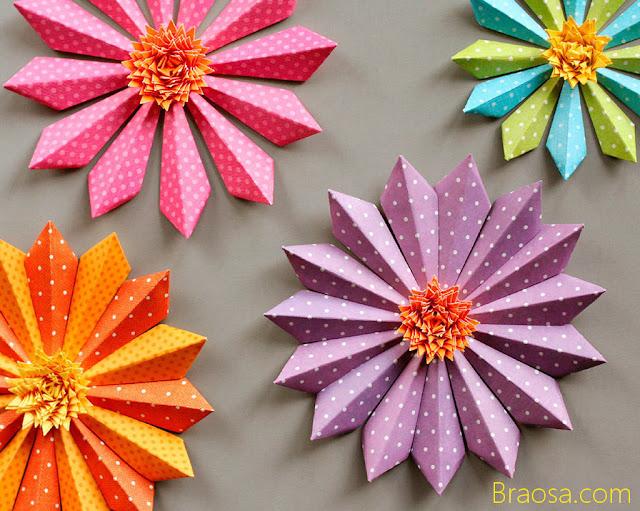 come fare i fiori di carta velocemente
