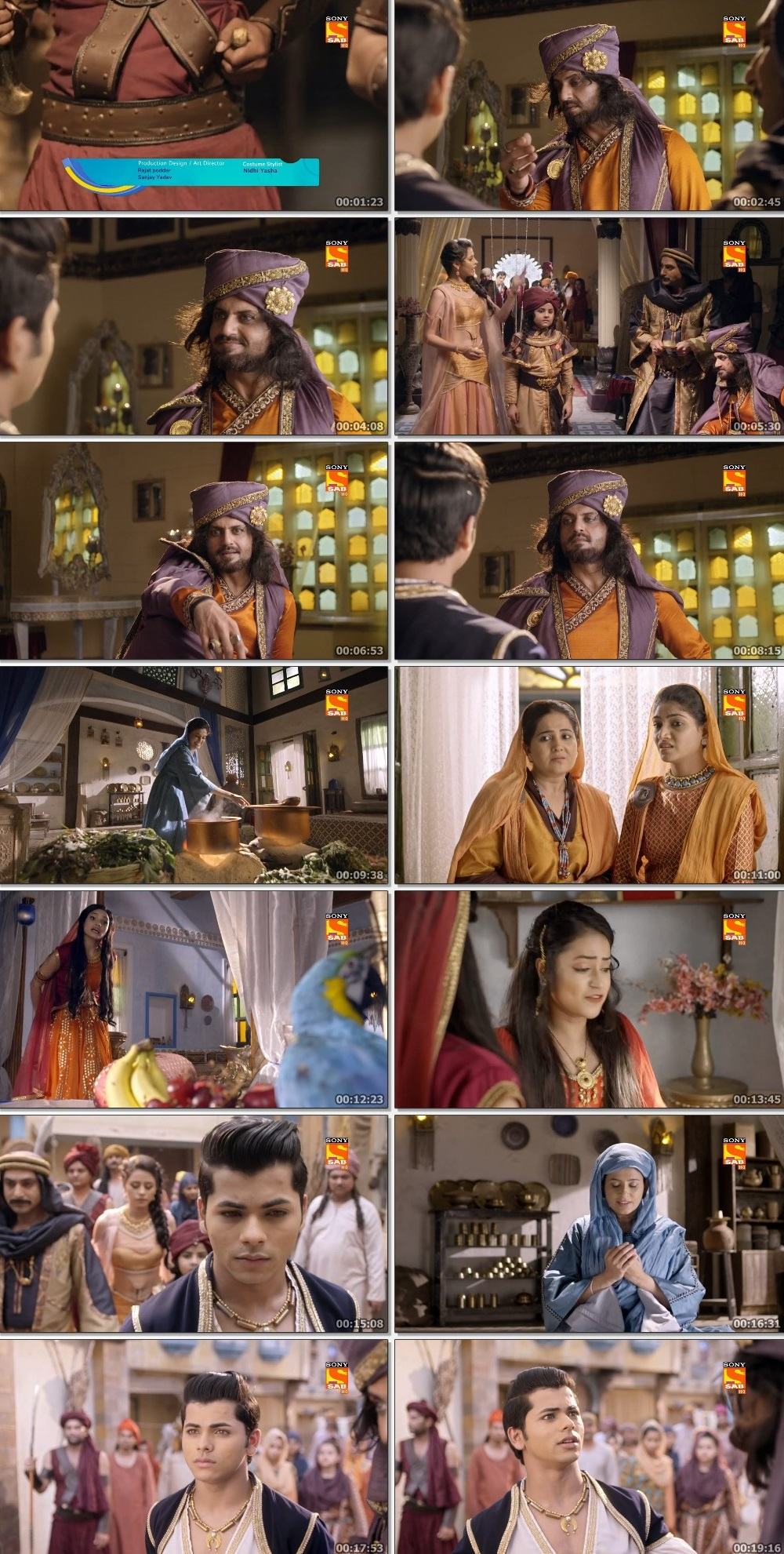 Screenshots Of Hindi Show Aladdin – Naam Toh Suna Hoga 2019 Episode 219 300MB 720P HD