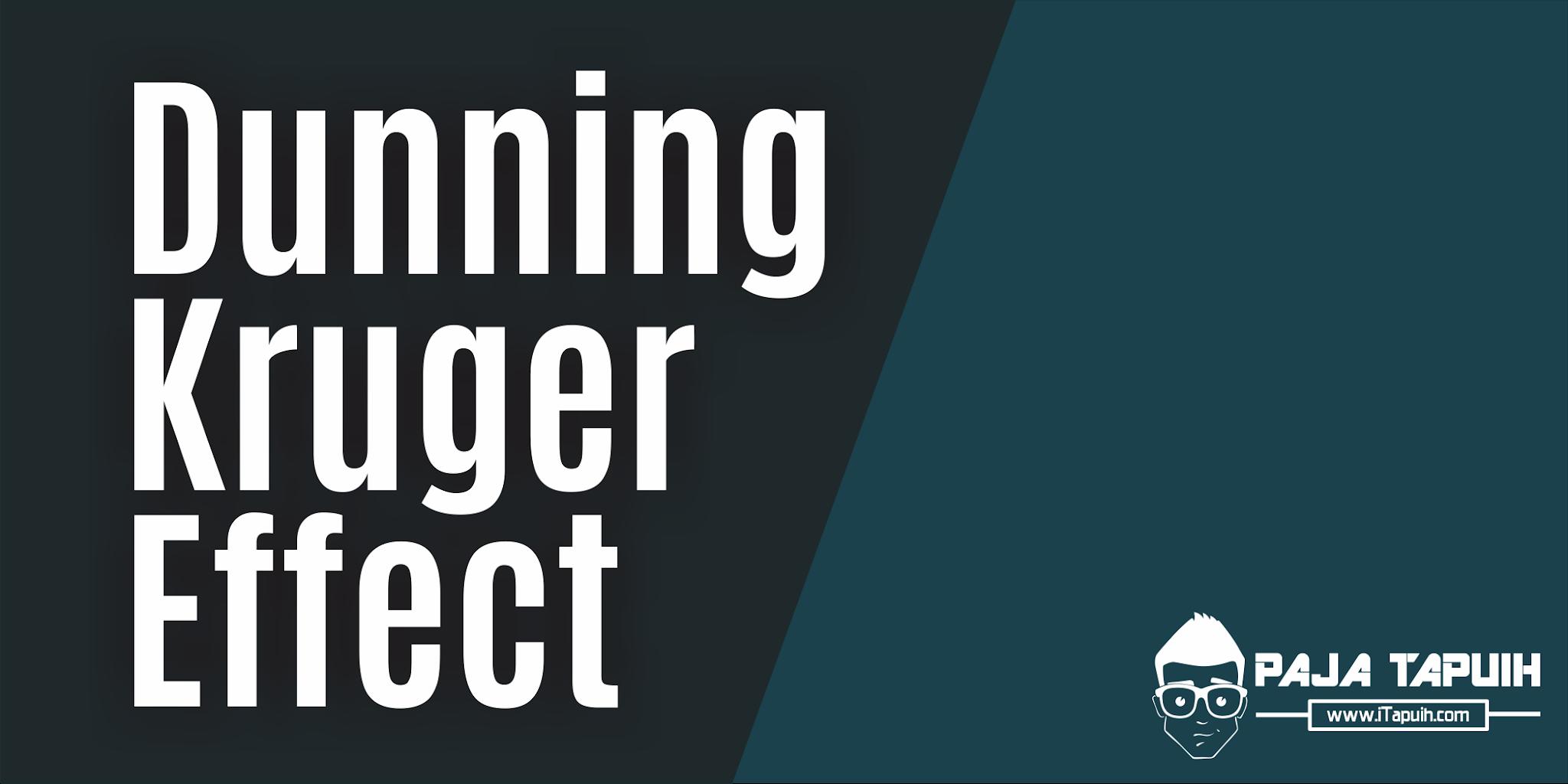 Soal Explanation Text Isian Singkat Dunning-Kruger Effect