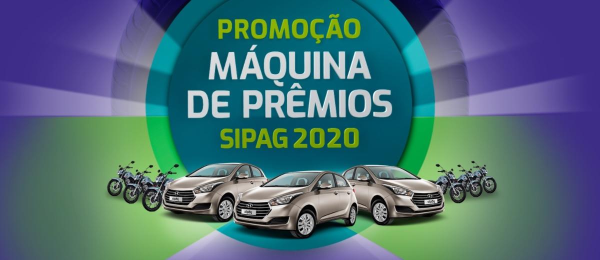 Participar Máquina de Prêmios Sipag 2020 Carros 0KM e Motos Novas
