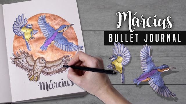 Bullet Journal Március - March 2018