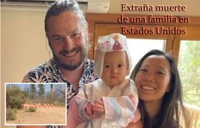 La misteriosa muerte de una familia en California, Estados Unidos