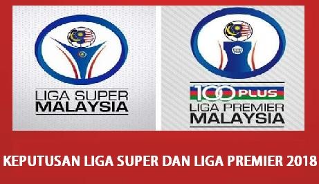 live score keputusan liga super dan liga premier 2018 malaysia