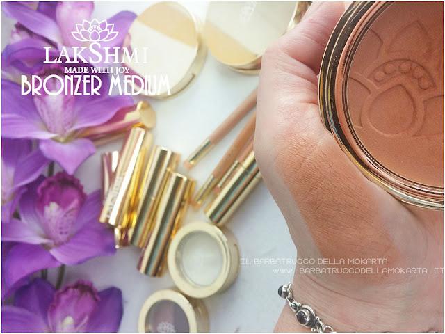 bronzer swatches lakshmi makeup vegan ecobio
