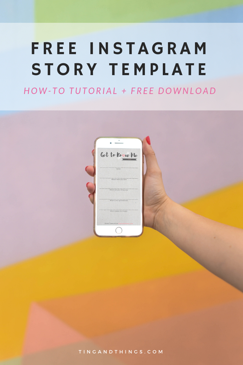 How to Make Your Own Instagram Story Template {Tutorial + Free Download}