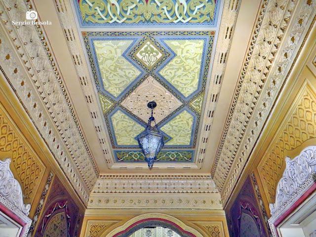 Palacete Rosa - Teto do Hall de entrada