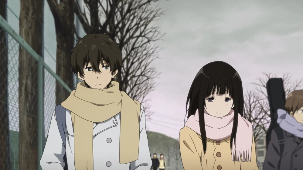 Oreki and Chitanda, Anime Hyouka