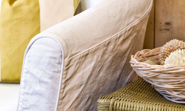 How To Make Slipcovers Look More Presentable
