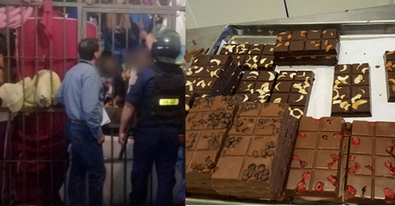 Após 5 horas de negociação, presos trocam refém por barras de chocolate