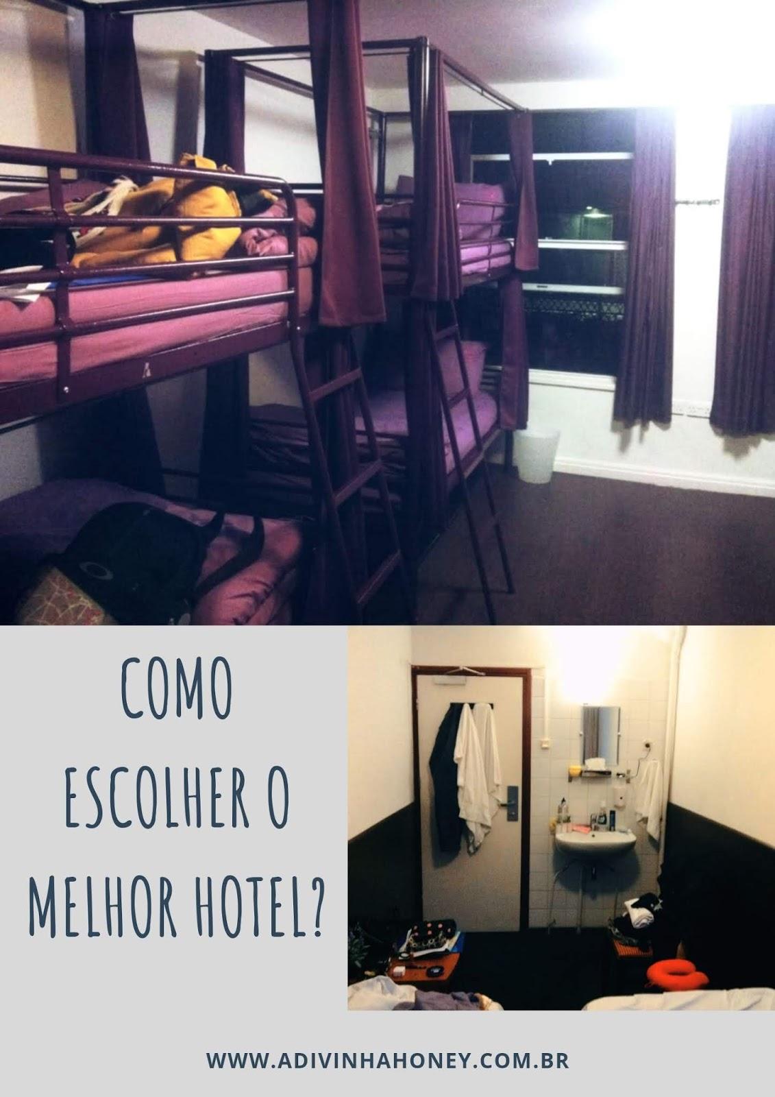 como escolher o melhor hotel