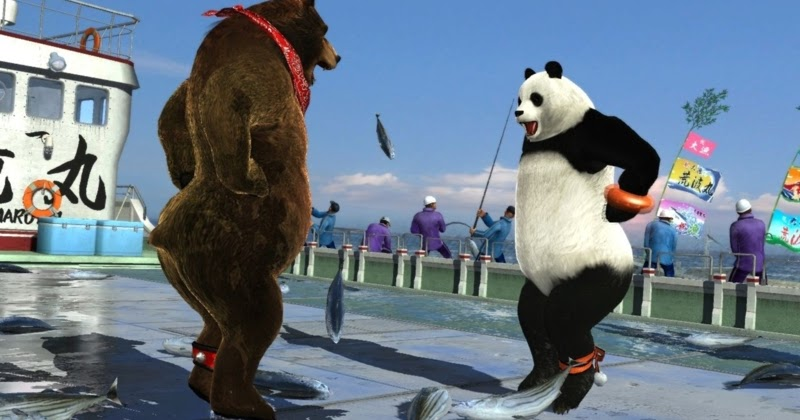 The Power Of Tekken Kuma Panda