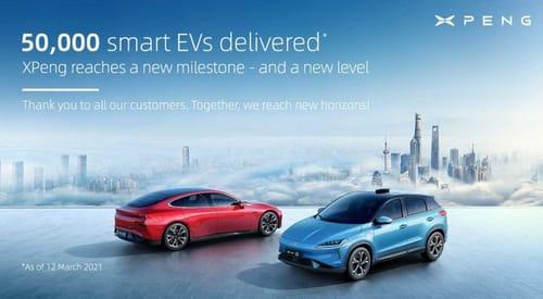 China supports Tesla's rival Xpeng
