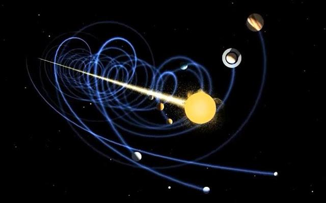 Segundo a NASA é assim que vagamos pelo espaço infinito