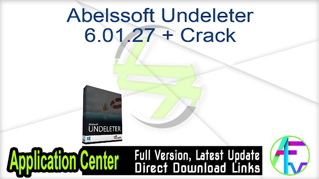 Abelssoft Undeleter 6.01.27 + Crack