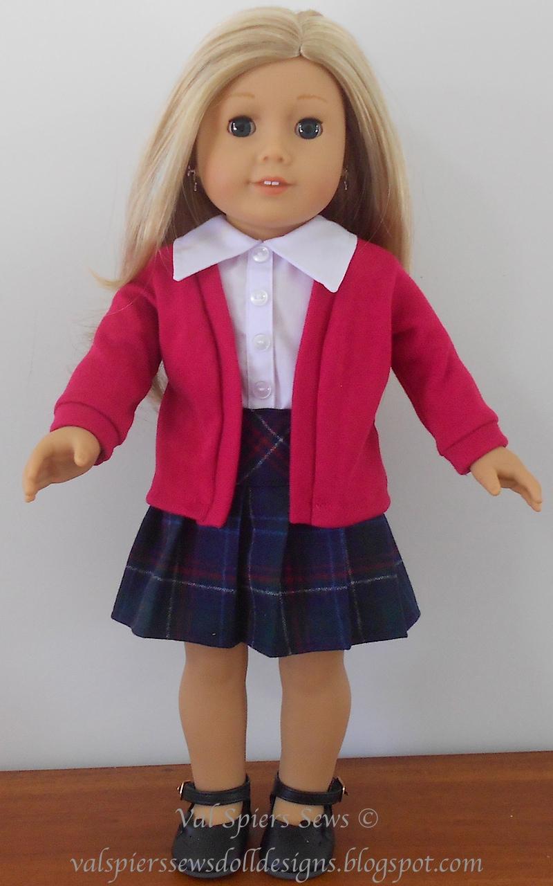 Doll Skirt Pattern 64