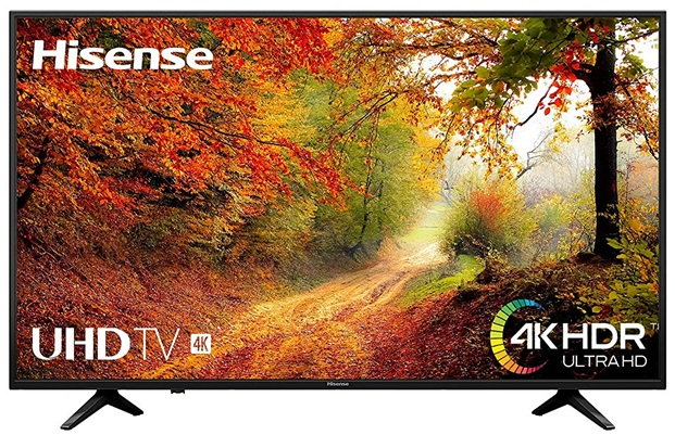 Hisense H55A6140: Smart TV 4K de 55'' con Netflix y Remote NOW