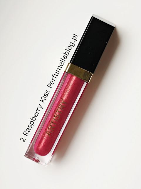 raspberry kiss artistry lip gloss