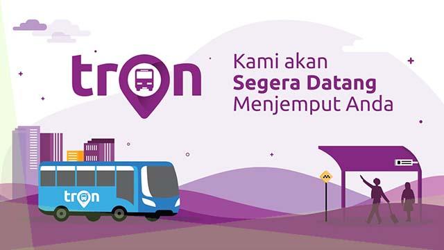 TRON Aplikasi Angkot Online