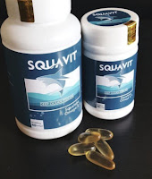 kode-wf06 Paket 2 botol SQUAVIT 40 Softgel Squalene Deep Ocean Fish Liver Oil ,.,.,.$