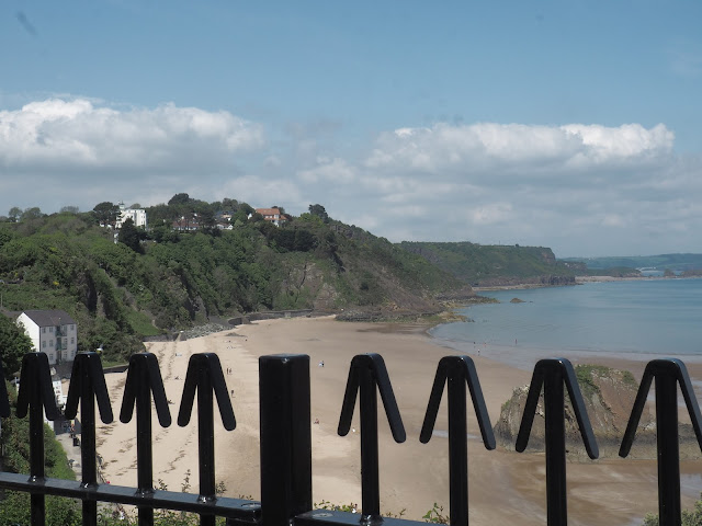 Tenby South Beach Railings