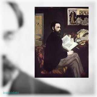 Πίνακας Εντουάρ Μανέ  (1832–1883), Πορτραίτο Εμίλ Ζολά
