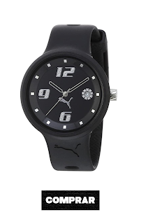 Puma Time A.PU910672001 - Reloj de Mujer de Cuarzo, Correa de Resina Color Negro