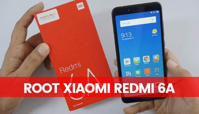 Root Xiaomi Redmi 6A with SuperSU & Install TWRP Recovery