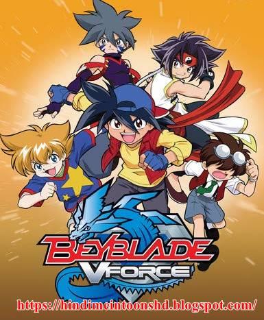 Beyblade (Season 2) V Force Hindi Dubbed Episodes Download HD