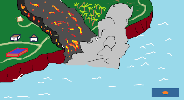 La lava del vulcano della Palma arriva al mare