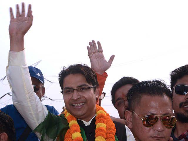 Darjeeling MP Raju Bista