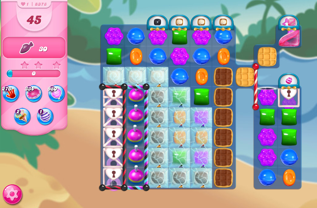 Candy Crush Saga level 8378