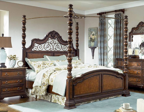 Simple Four Poster Canopy Beds 13