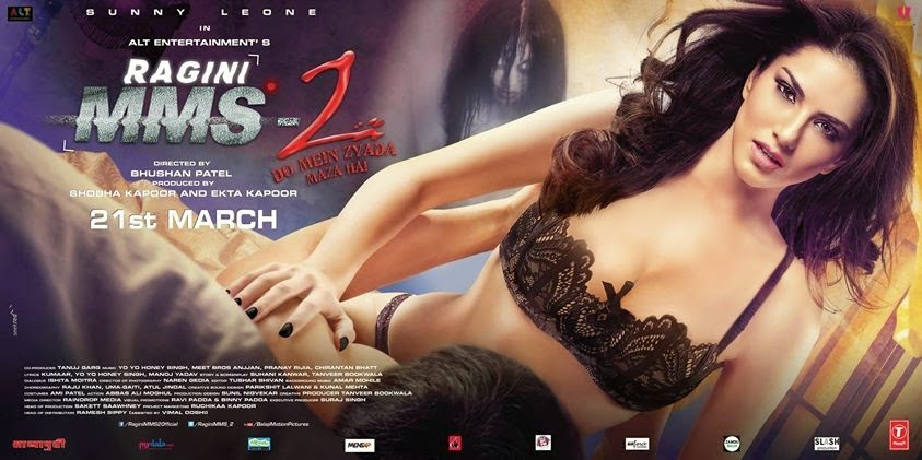 about movie ragini mms 2 is a horror film in this film sunny leone